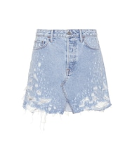 Milla cotton denim skirt