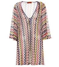 Chevron striped kaftan