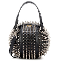 Tifosa Mini studded leather tote