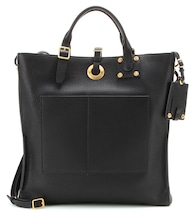Valentino Garavani Eye On You leather shopper