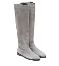 Bree suede knee-high boots