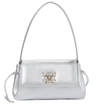 Miss Vivier Strass leather shoulder bag
