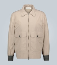 Lightweight zipped jacket