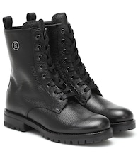 New Meribel leather ankle boots
