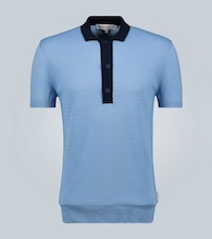 Rushton panel polo shirt