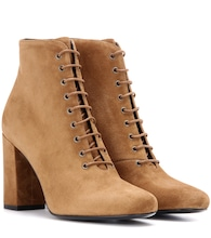 Babies 90 suede ankle boots
