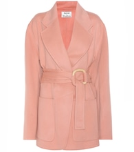 Lilo wool and cashmere coat