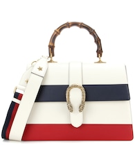 Dionysus Stripe Large leather shoulder bag
