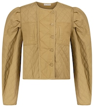 Arlo quilted cotton jacket