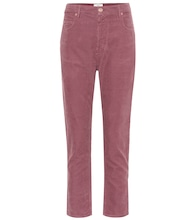 Neav cropped corduroy pants