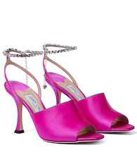Sae 90 embellished satin sandals