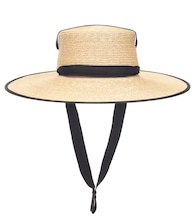 Zorro straw hat