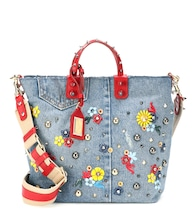 Beatrice embellished denim shopper