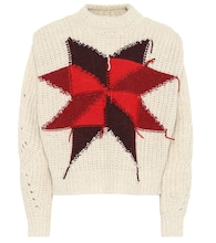 Hadyn wool-blend intarsia sweater