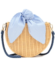 Dylan wicker shoulder bag