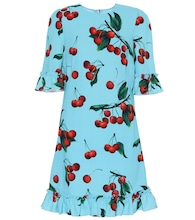 Exclusive to Mytheresa – cherry printed minidress