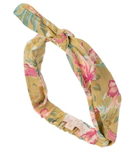 Cally floral cotton headband