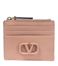 Valentino Garavani VLOGO leather card holder