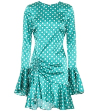 Exclusive to Mytheresa – Monique polka-dot stretch-silk dress