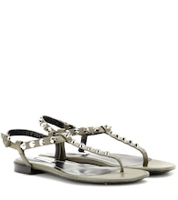 Classic studded leather sandals