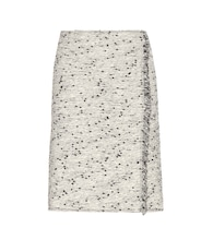 Cotton-blend skirt