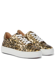 Vieirissima printed leather sneakers