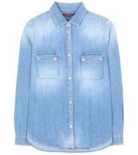 Bluse Uniform aus Chambray