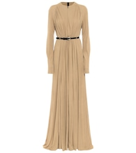 Arcilla belted maxi dress