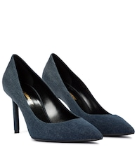Anja 85 denim pumps