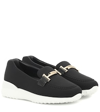 Exclusive to Mytheresa – Double T neoprene loafers