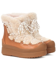 Stivaletti Courtney 60 in shearling
