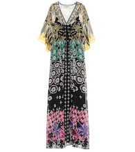 Beaumont Claudette printed kaftan