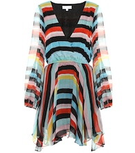 Exclusive to Mytheresa –  striped silk chiffon dress