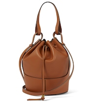 Balloon Medium leather shoulder bag