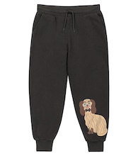 Dashing Dog cotton sweatpants