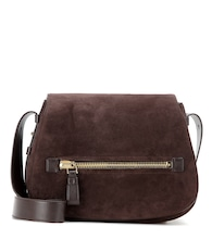 Jennifer Soft suede shoulder bag