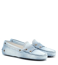 Gommino denim loafters