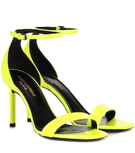 Amber 105 patent leather sandals