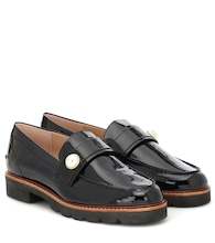 Manila patent leather loafers