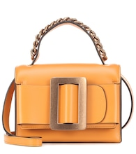 Fred leather shoulder bag
