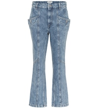 Notty high-rise straight jeans