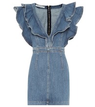 Denim minidress