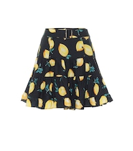 Exclusive to Mytheresa – Isla printed cotton miniskirt