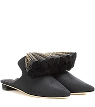 Exclusive to mytheresa.com – Sanguarina canvas mules