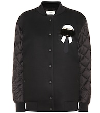 Karlito bomber jacket with fur