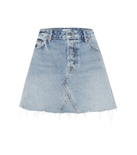 The Eva denim miniskirt