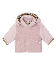 Baby Monogram quilted jacket