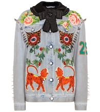 Embellished denim jacket