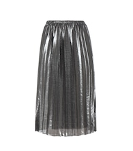 Madlen pleated plissé skirt