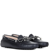 Gommini leather loafers